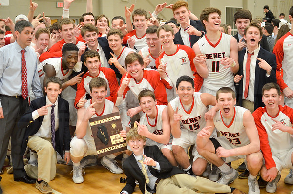 Boys Basketball: NCHS @ Benet Regional Final 3/4/2016