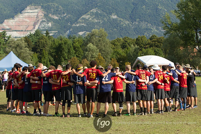 8-6-14 USA Revolver v Germany Frizzly Bears Open Division Tuesday Matchup at WFDF 2014 World Ultimate Club Championships
