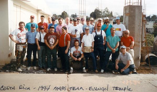 1994 MAPS Team to San Jose Costa Rica