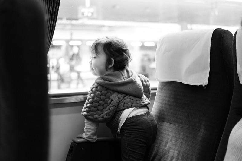 Train To Yufuin Japan