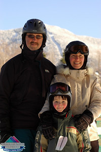 Proulx Family at Smugglers' Notch
