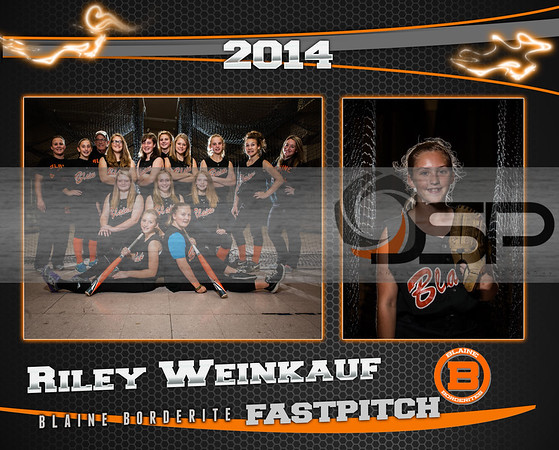 2014 Blaine MS Fastpitch