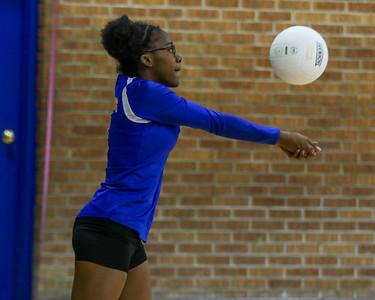 2019-10-03 8th Grade Volley ball Senatobia vs Cleveland