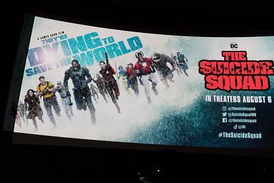 The Suicide Squad Screening