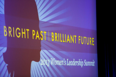 Genentech Women's Leadership Summit 2013
