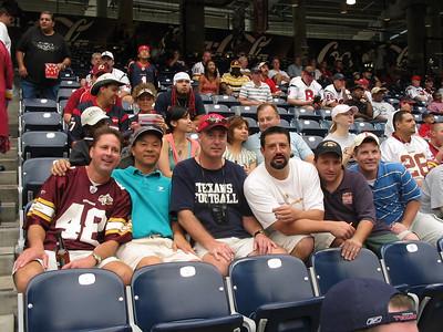 WSHS '83 Drunkfest 2006 - Redskins @ Texans