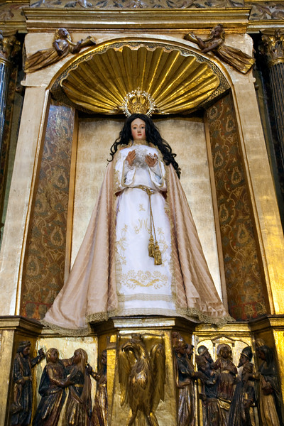 Image of the Virgin Mary, San Pedro church, Garrovillas, Caceres, Spain