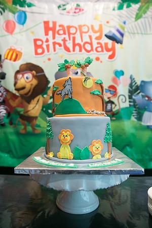 Rauf Rayyan Birthday Party