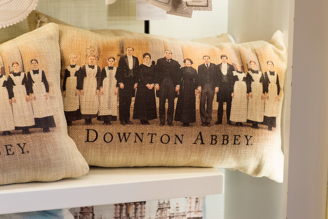 Downton Abbey Pillow - Epcot Flower & Garden Festival 2016