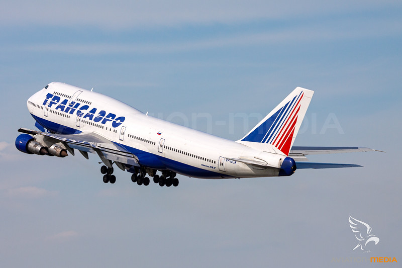 Transaero Airlines / Boeing 747-346 / VP-BGX