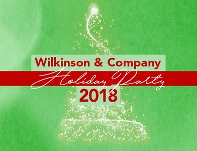 Wilkinson & Company 2018