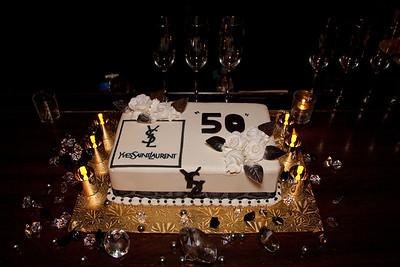 Yves Saint Laurent's 50th Anniversary 1/30/12