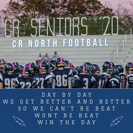 2019 CR North Football Video