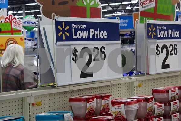 Black Friday Preparations at Local Stores - November 2015