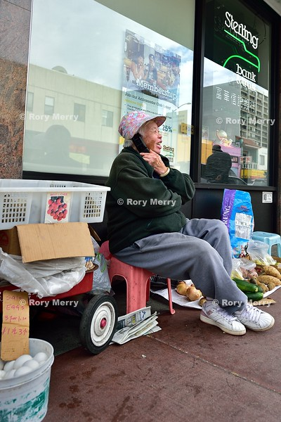 Chinatown street vendor