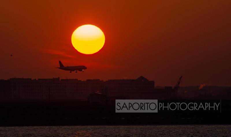Sunset A320