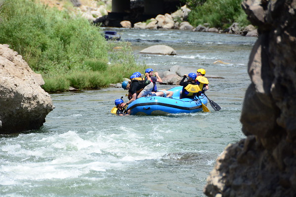 Whitewater Rafting Truckee River 7/26/17