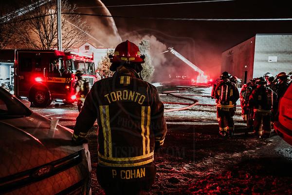 January 22, 2019 - 3rd Alarm - 85 Bakersfield St.