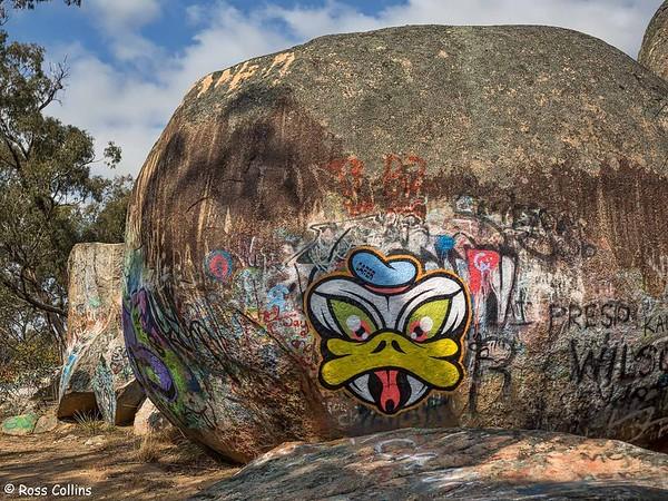 Sister Rocks, Stawell 2018