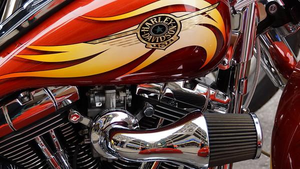 Motorcycles on Meridian - 2015