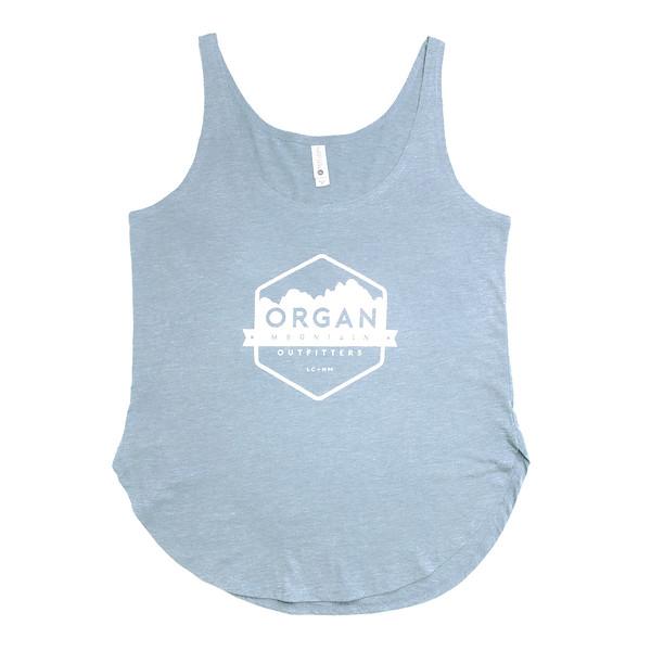 Organ Mountain Outfitters - Outdoor Apparel - Womens - Festival Tank - Stonewash Denim.jpg