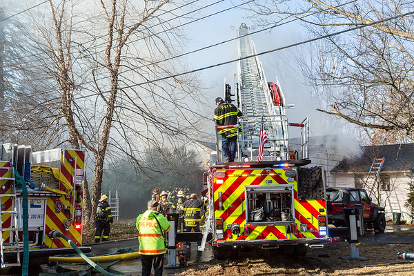 Montvale NJ Fatal 2nd alarm, 55 North Ave. 12-23-18