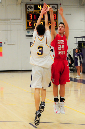 JV - Regis at Littleton - January 22nd 2013 - Just a little of the 4th quarter