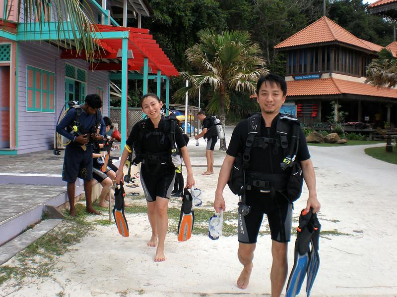 [20080515] Will & Bee Scuba Diving @ Redang (17).JPG