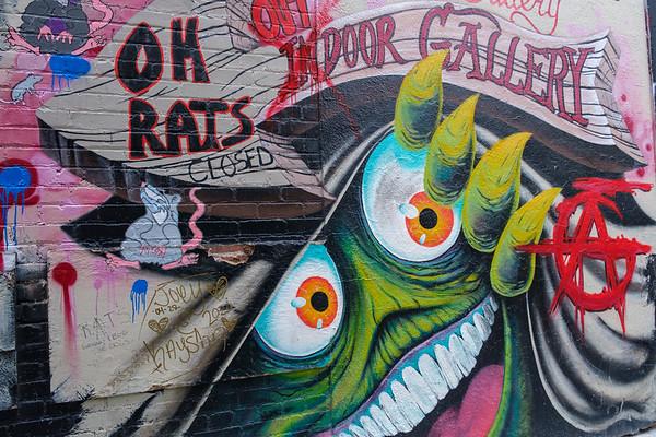 Freak Alley Graffitti