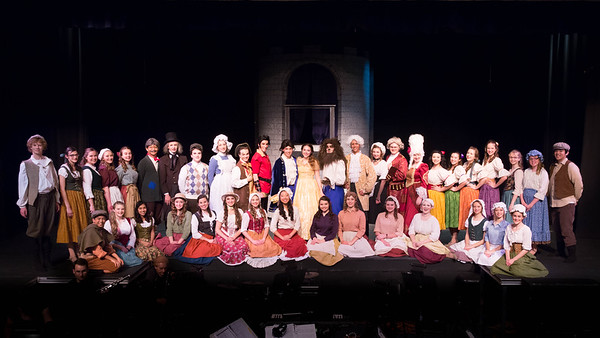 Beauty and the Beast 2014 - Group Cast Photos