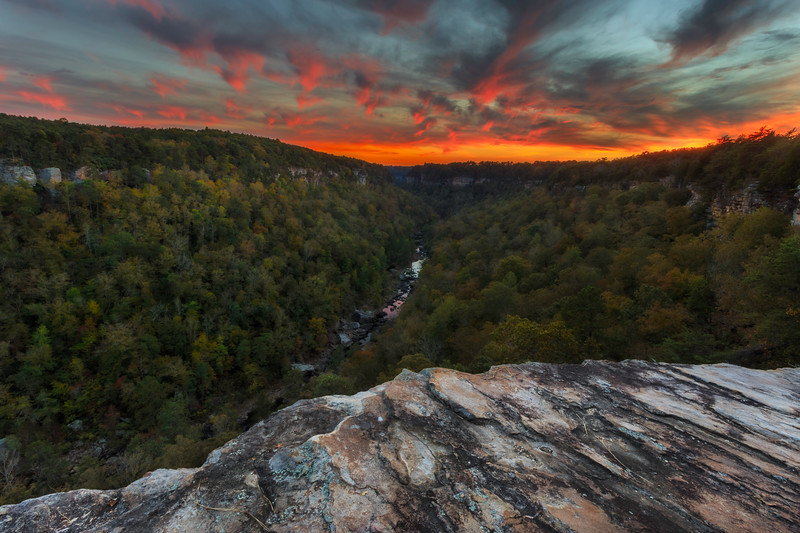 Little River Canyon Fall Sunsetprint.jpg