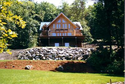 Silver Lake Log Home