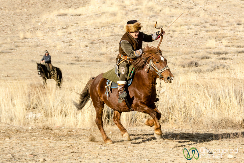 Archery on Horseback, Sulburuun Federation in Bakonbaevo - Southern Shore, Kyrgyzstan