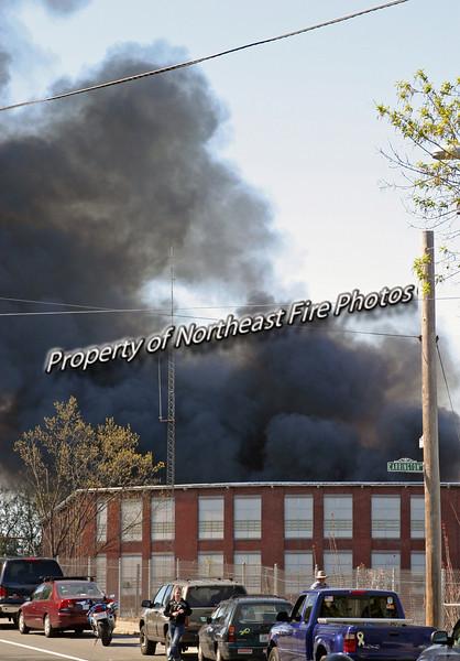 Woonsocket- Villanova Ave. Mill Fire