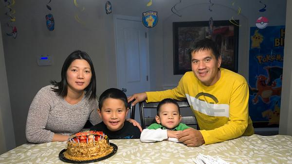 Jason's 7th Birthday