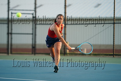Tennis - High School Girls Woonsocket at Portsmouth on 09/30/21