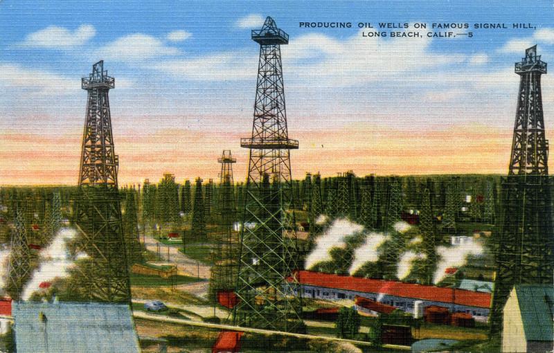 Producing Oil Wells