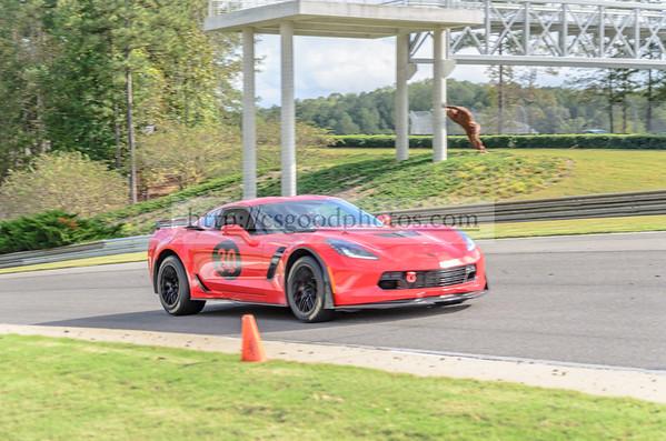 DL 30 Red Corvette Z06