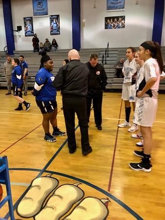 Sullivan West vs. Monticello Girls Basketball 2-19-19 Senior Night