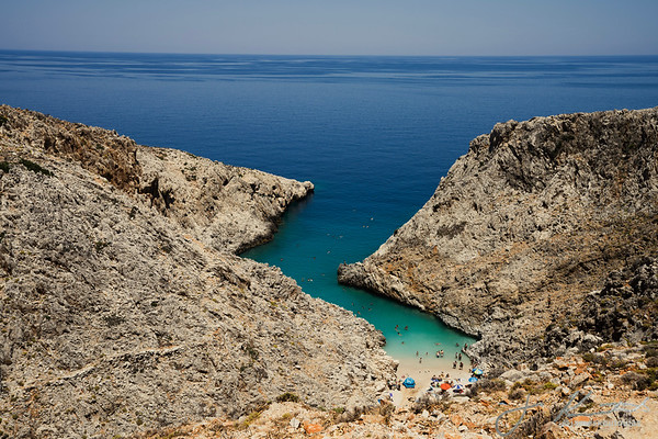 Crete Above Water