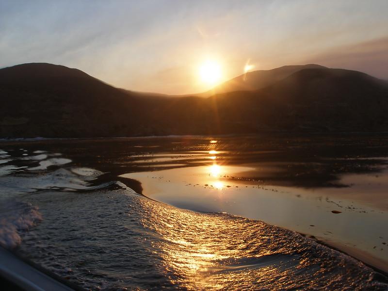 Sunrise at Johnson's Lee, Santa Rosa Island, CA