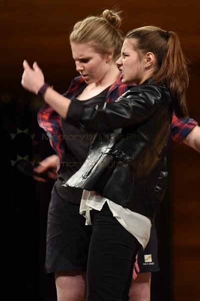 Otago Girls' High School: The Taming of the Shrew - Act II sc i