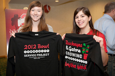 Ohio Union Bowl Tour: Gator Bowl 2012 Service Project