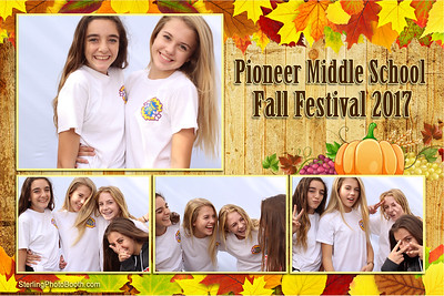 Pioneer Middle School Fall Festival.