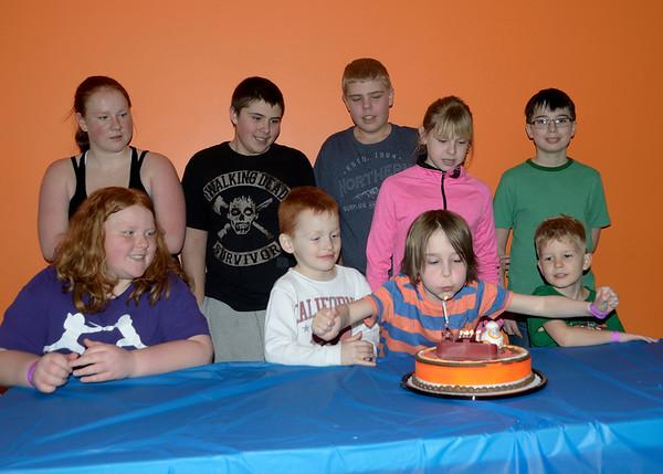 Rohnan's 8th birthday