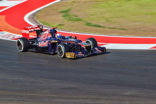 Formula 1: US GP, Austin - November 16-18, 2012 -Practice and Qualifying-