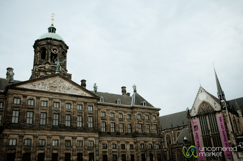 Royal Palace and Nieuwe Kerk - Amsterdam