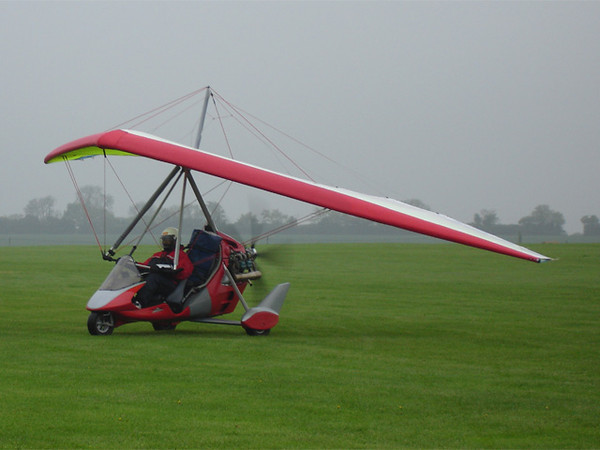 Dave arrives at Sywell