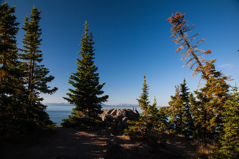 Storm Point and Yellowstone Lake
