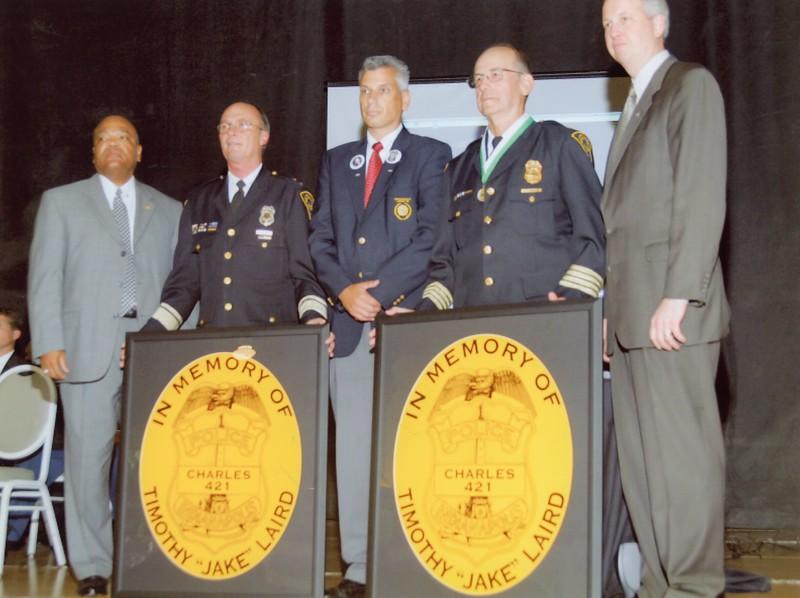 Jake Laird award 9-16-2004